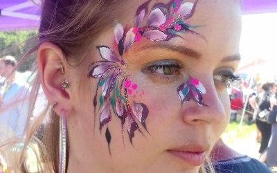 Adult facepainting Summer festival 2018