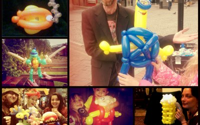 Captain Jackdaw and the Rumbucket - Balloon Twisting
