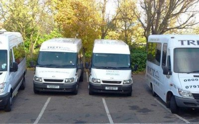 8 to 16 Seater minibuses