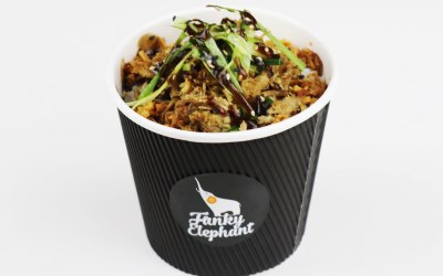 Honey Spiced Crispy Duck Rice Pot