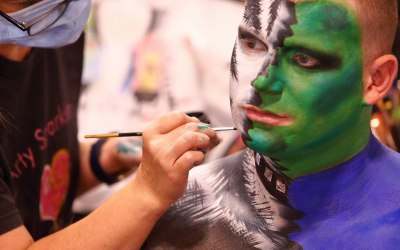 Arty Sparkles Face and Body Painting 4