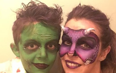 Halloween Facepaint for trick or treating