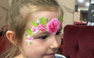 Charity Event face paint