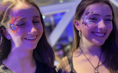 Arty Sparkles Face and Body Painting 2