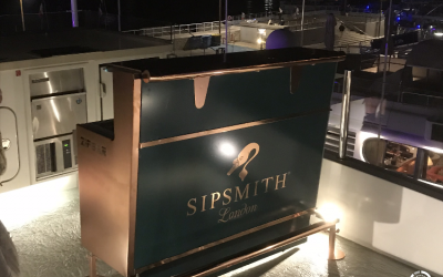 Sipsmith Gin in Cannes 2018