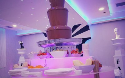 The 5 Tier Chocolate Fountain