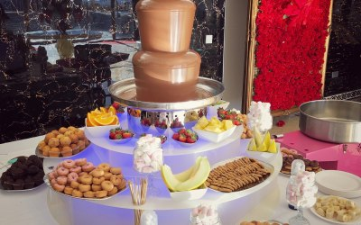 5 tiers of heavenly chocolate