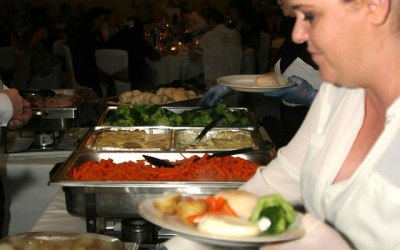 Hot Wedding Buffets