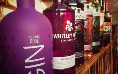 We have a range of gins + mixers available