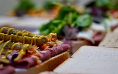 New Yorker Sandwich Prep