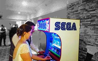 Arcade Machine Hire for Weddings