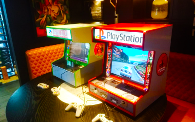 Video Game Bar Top Hire