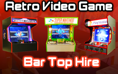 Video Game Console Hire | Weddings, Parties & Events
