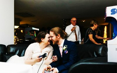 Retro Video Game Console Hire for Weddings