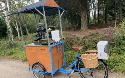 Our Coffee Bicycle