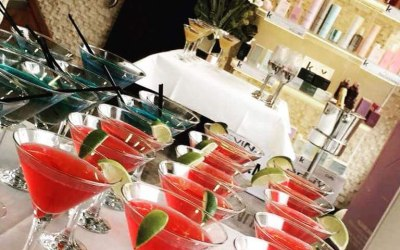 Have a business event in the horizon. Why not treat your clients to a cocktail or two?