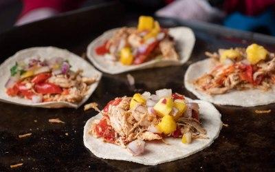 Fiesta Chicken Tacos