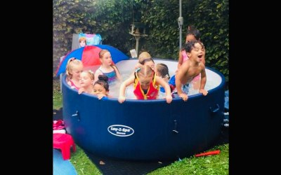 Kids party tub