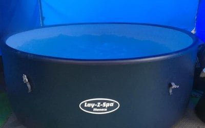 8 person & more rigid tub