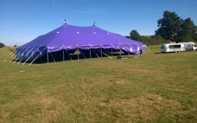Big top hire for cinema club