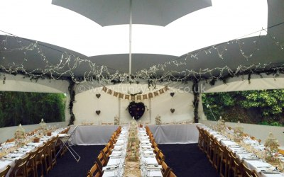 Inside of a Hex dressed for a wedding.
