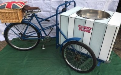 Tricycle Mounted Candy Floss Maker