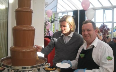 Welsh Chocolate Fountains & Photo booth 8