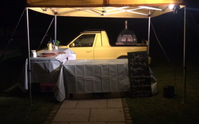 Wood-fired pizza Cheshire