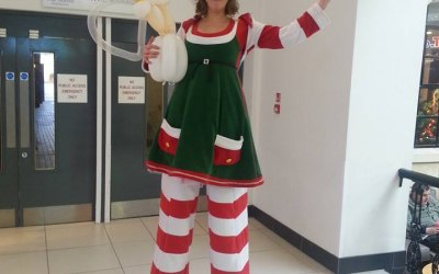 Lucy Lost-it the tallest Elf in the world