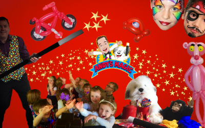 Children's Entertainer, Party Magician, Magic Shows, Andy's Magic