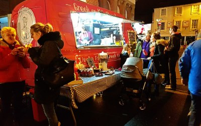 Bicester Christmas Lights Switch On