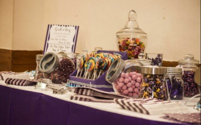 A wedding sweet buffet - also available on our cart.
