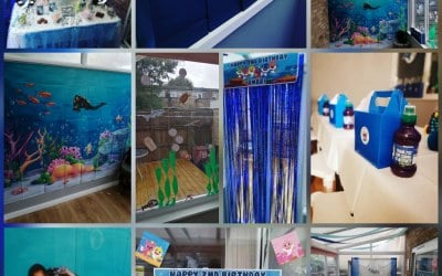 Under the sea theme Kids Party
