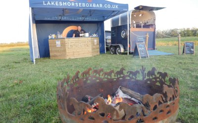 Horsebox and pop up bars available.