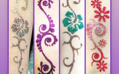 C & G Glitter Tattoo Party 5