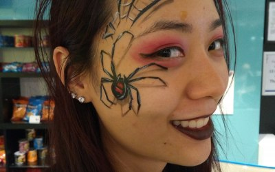 Ladybird Face Painting by Lucy 3