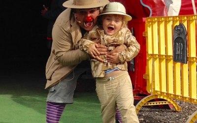 Explorer Tolly & his nephew