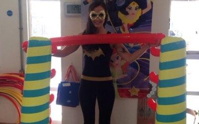 LIMBO at a superhero party!