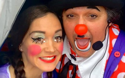 Sanna Banana & Clown Tolly!