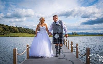 Scottish Sunshine Wedding !