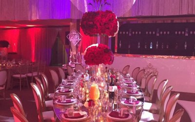 Royal table for VIP guests