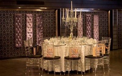 Luxury crytsal candelabras