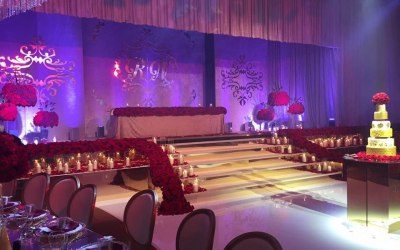 Top table for Bride and Groom