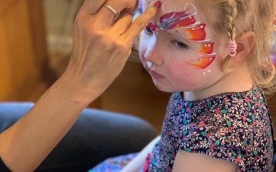One Stroke Face Painting 9