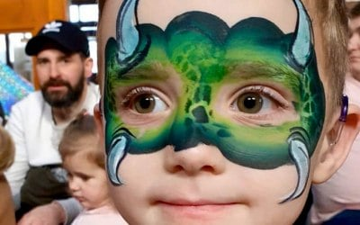 One Stroke Face Painting 8