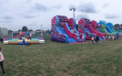 Inflatable Slide, Bouncy Castle