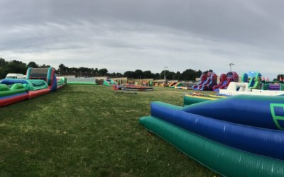Bungee Run, Assault Course
