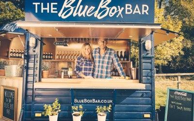 The blue box bar - Garden Party 2019