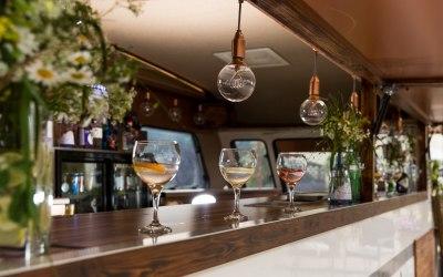 Inside The Gin Tin Bar