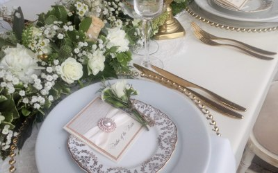 Gold Cutlery its a must !